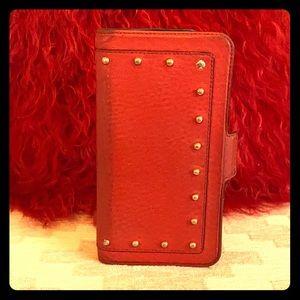 Kate Spade Embellished 7/8 Plus Folio iPhone Case